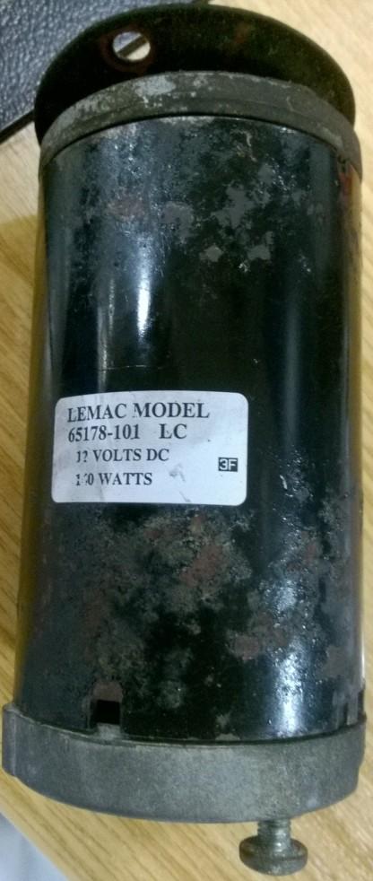 LemacFixItWorkshop, Worthing Aug'17 Model 65178-101 motor
