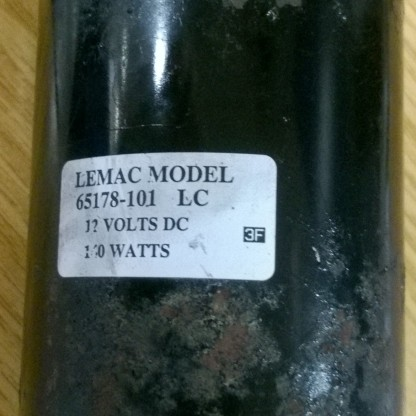 LemacFixItWorkshop, Worthing Aug'17 Model 65178-101 motor