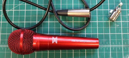 FixItWorkshop, Oct'17, X-Factor Microphone, XLR.