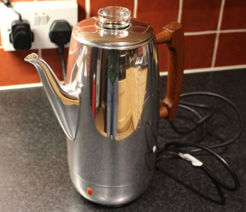 FixItWorkshop, Worthing, May'19, Sona coffee percolator.