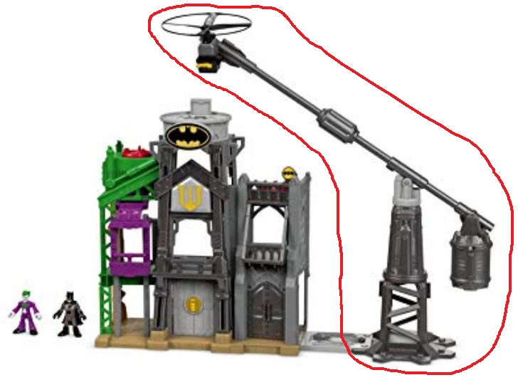 Imaginext Super Hero set