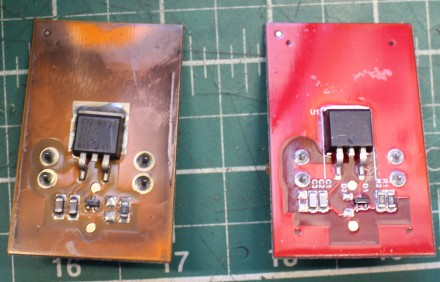 FixItWorkshop, Worthing, May'20, Numatic PCB old and new (front)