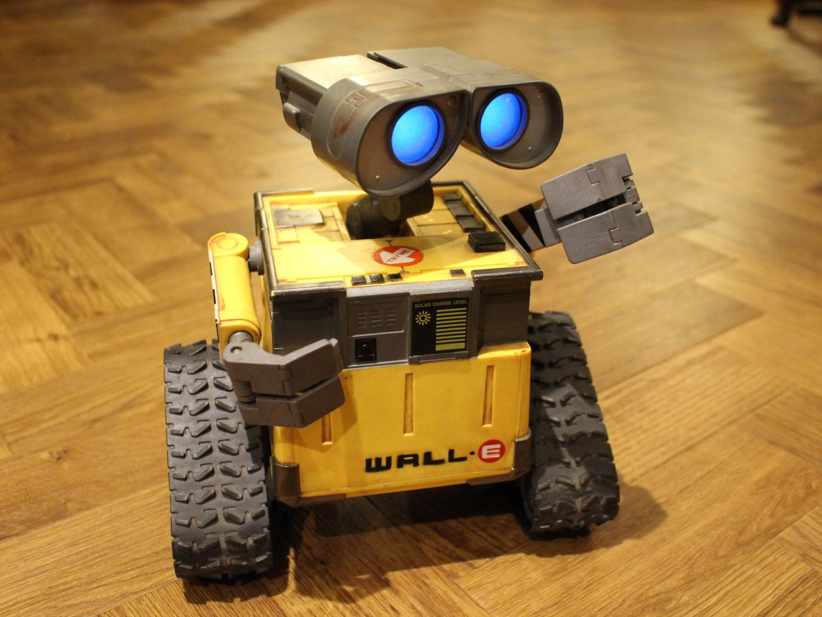 Wall-E gets back on track