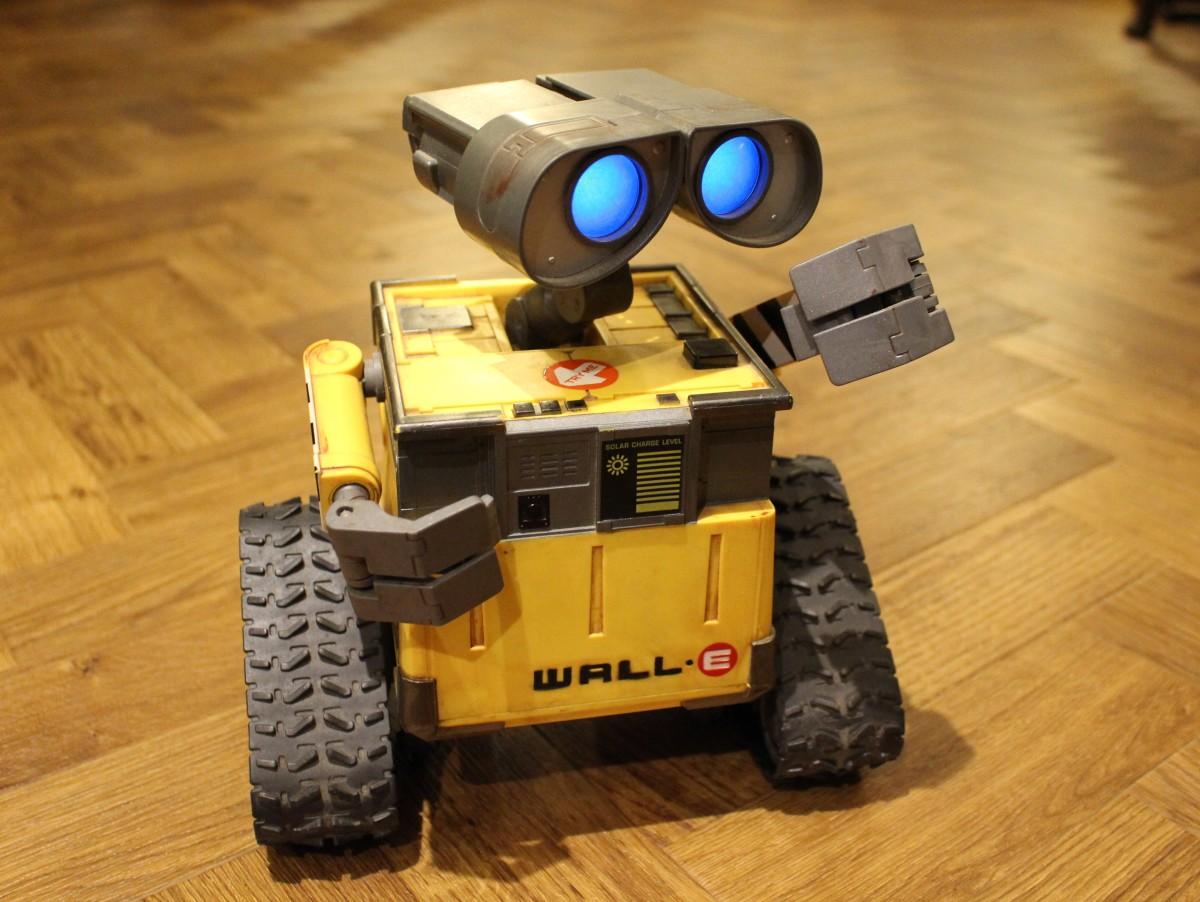 Wall-E gets back ontrack