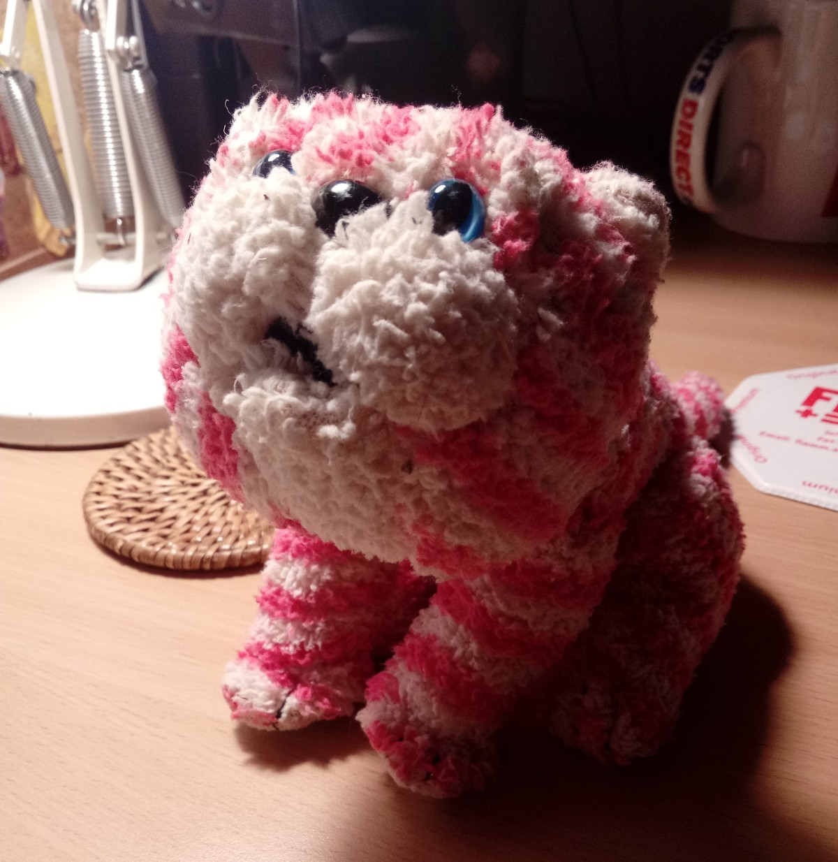 Bagpuss, oh, Bagpuss, oh, flat battery cat puss…